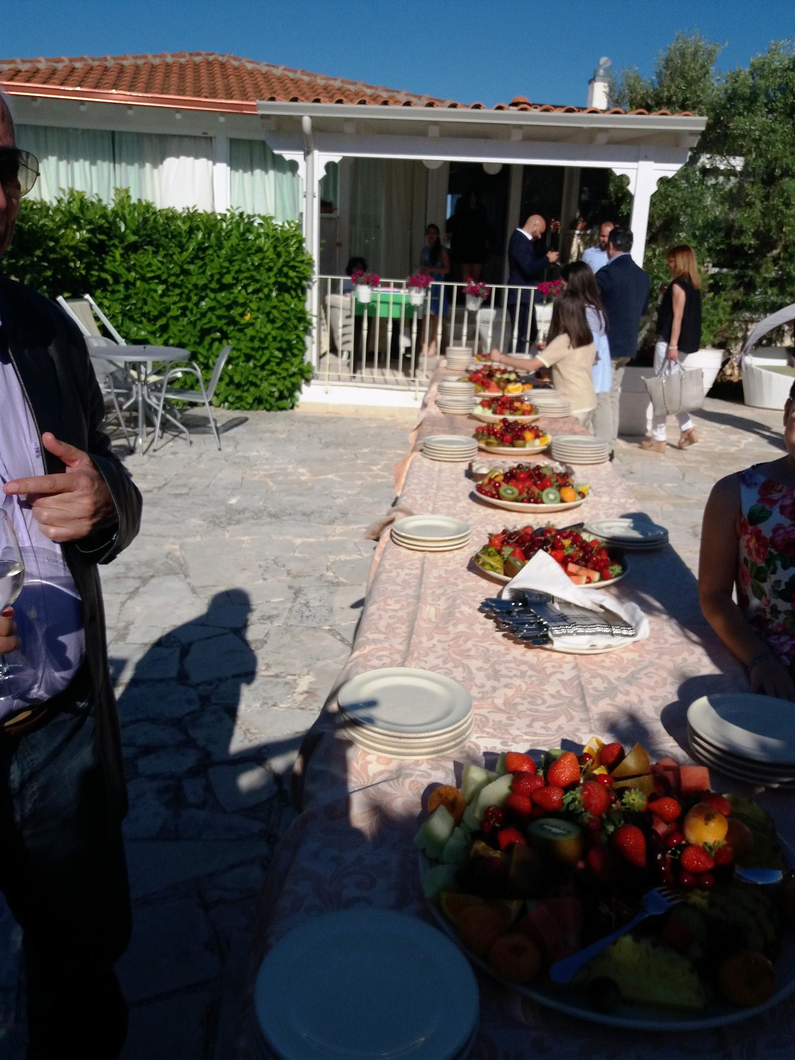 Dinner at the Farm holidays Ostuni Salento Apulia 14