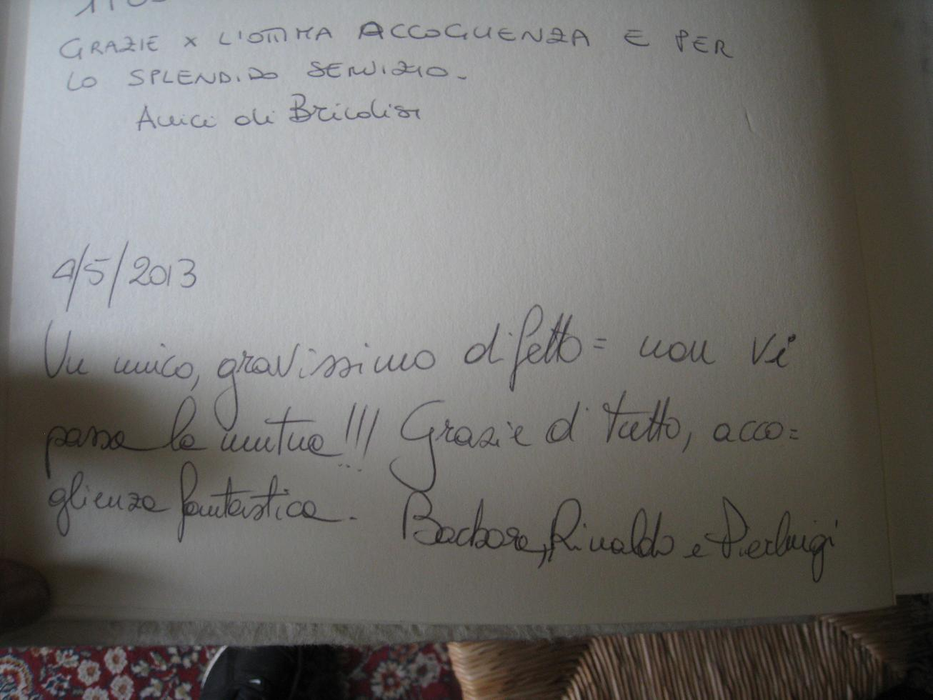 Guests who recommend their holiday in Apulia - Agriturismo Salinola Ostuni 17