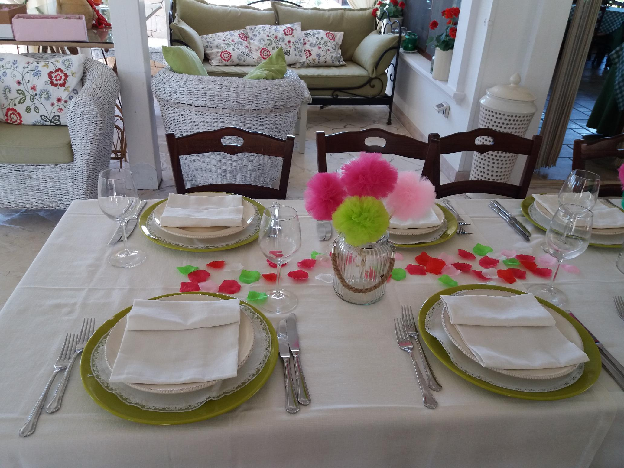 Dinner at the Farm holidays Ostuni Salento Apulia 8